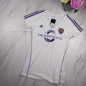 NWT Orlando City Soccer Tee Shirt SZS